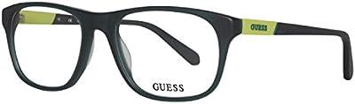 Guess GU1866-097 Gafas, VERDE, 53/18/145 para Hombre