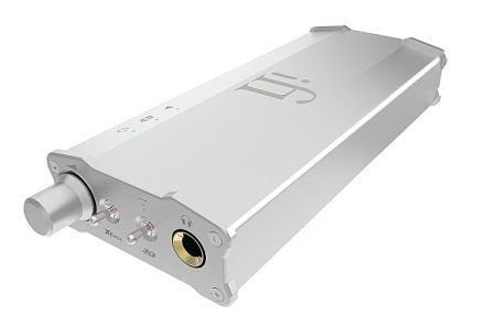iFi Audio Ican Verstärker für Kopfhörer Funktion 3D holographisch Silber 3d-audio-kopfhörer