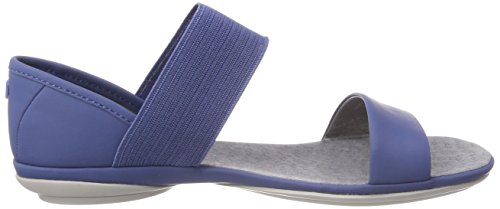 Camper Right Nina, Sandali Punta Aperta Donna Blu (Medium Blue 420)