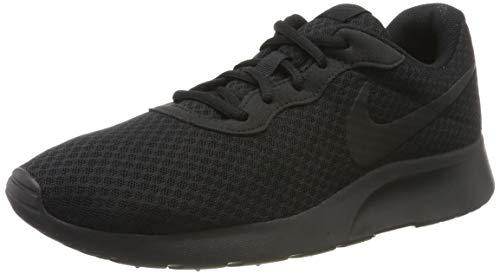 Nike Herren Tanjun Laufschuhe, Schwarz Black-Anthracite 001, 41 EU (Nike Tennis-schuhe Der Schwarzen Männer)