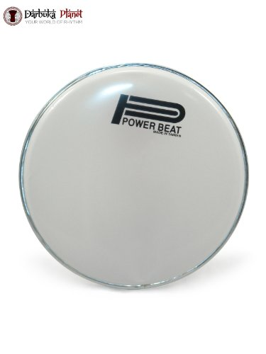 Weiß Power Beat 22,2 cm Darbuka Haut Doumbek Head Original powerbeat Drum Haut