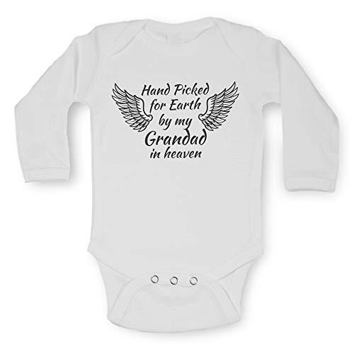 acd82bb2d Unisexe bébé à manches longues gilets Funny Graphic phrase Imprimé bodies  One Piece Body bébé pour