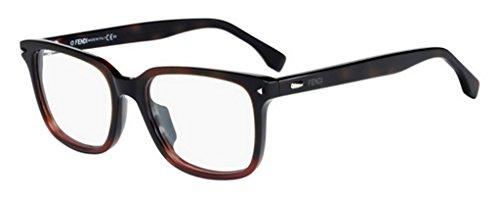 Fendi Herren FF 0220 21C 52 Sonnenbrille, Rot (Shdhvna Red)