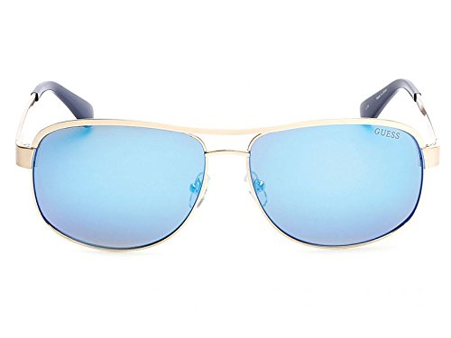 Guess GU6874 C63 34X (shiny light bronze / blu mirror) Sonnenbrillen