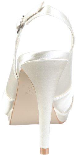 Menbur Wedding Aurora 4556 Damen Sandalen Elfenbein (Ivory 04)