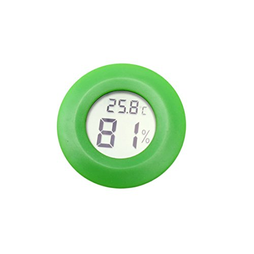 Medidor de humedad para sonda de temperatura con sensor de higrómetro termómetro digital para mascotas...