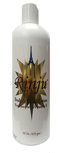 Rinju Lotion Body (Rinju Body & Hand Lotion Enriched with Vitamin E 453g)