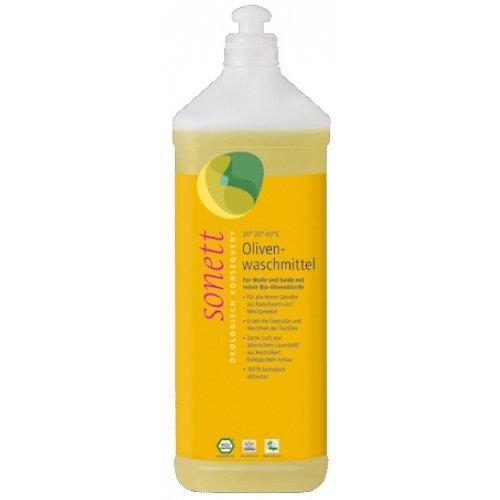 Sonett - Olivenwaschmittel für Wolle und Seide flüssig - 1l
