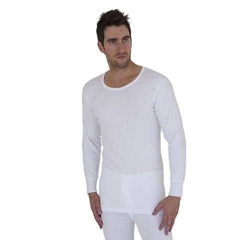 Heat Holders Herren Thermo-Unterhemd / Thermo-T-Shirt, Langarm (XXL Brust 119-124cm (47-49in))