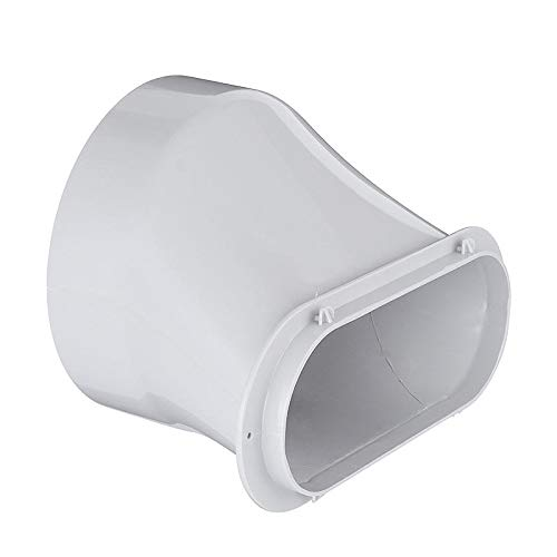 GIlH 5.9 Inch Outlet Air Conditioner Exhaust Pipe Vent Hose Tube Duct Connector Adapter (Vent Air Duct)
