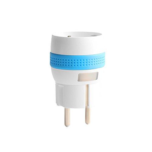 NodOn MSP-2-1-11 Micro Smart Plug EnOcean Schuko, 1800 W, Blanc
