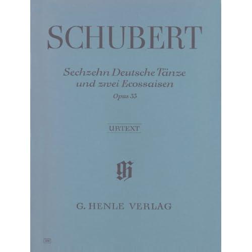Sechzehn Deutsche Tanze und znei Ecossaisen opus 33