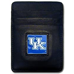 NCAA Kentucky Wildcats Leather Money Clip/Cardholder