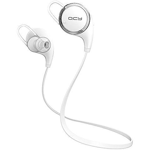 QCY QY8 CVC deportes inalámbrico 6,0 4.1 auriculares estéreo para auriculares auriculares Bluetooth con micrófono sudor HFP, A2DP, AVRCP,