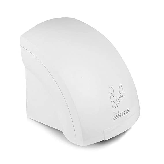 ASkly Hand Dryer Automatic Machine for Bathroom-Washroom-Home 1800W (White)