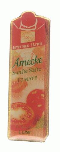 Amecke's - sanfte Säfte - Tomate - Pn aus Metall (Tomaten Pin)