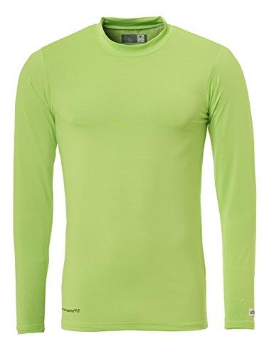 Uhlsport, Maglietta tecnica LA Uomo Flash verde