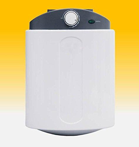 6 L Liter elektrischer Warmwasserspeicher UNTERTISCH Boiler Speicher druckfest wie 5 L Liter incl. Sicherheitsventil und Ablaufschlauch DRUCKFEST!