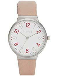 Parfois - Reloj Casual Silver Tray - Mujeres - Tallas Única - Rosa Bébé