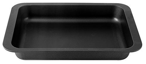 Zenker 7501 Special Countries Plat à Lasagne Acier Inoxydable Noir 40 x 29 x 6 cm