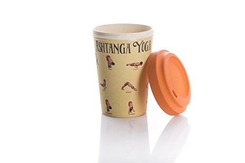 Coffe to go Becher Bamboo Cup (Yoga Moves) - 2