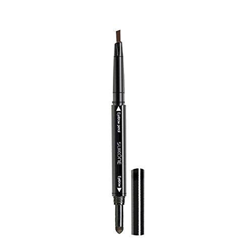 Contever® 11.9x2.1cm Waterproof con punta Eyebrow Eyeliner Creme / Pencil per sopracciglia - Dunkel Kaffee