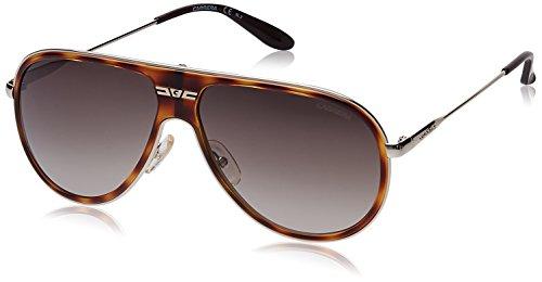 Carrera Oval Sunglasses (Demi Brown) (Carrera-87/S-8ENHA)