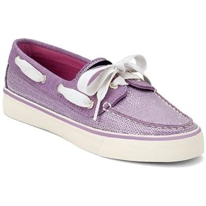 Sperry Top-Sider, Scarpe da barca donna Viola Purple Jersey Sequins UK / Medium (B, M) US / EU womens, Viola (Purple Jersey Sequins), 41.5