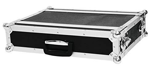 Roadinger Effektrack CO DD, 2HE, 24cm tief, schwarz für 483-mm-Steuer- und Effektgeräte (19