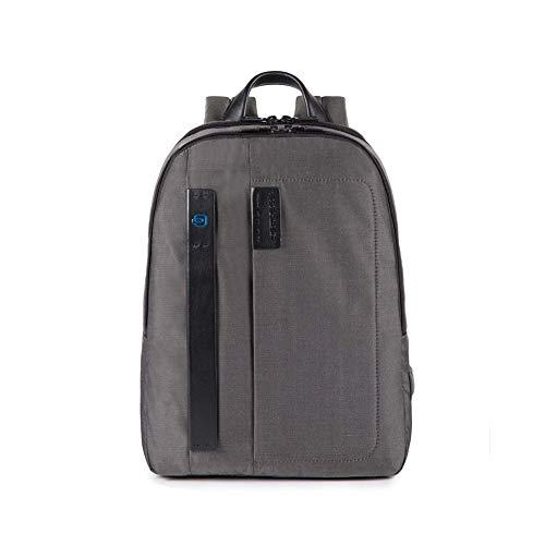 Piquadro Zaino porta PC e porta iPad dotata di dispositivo CONNEQU CA3869P16 grigio