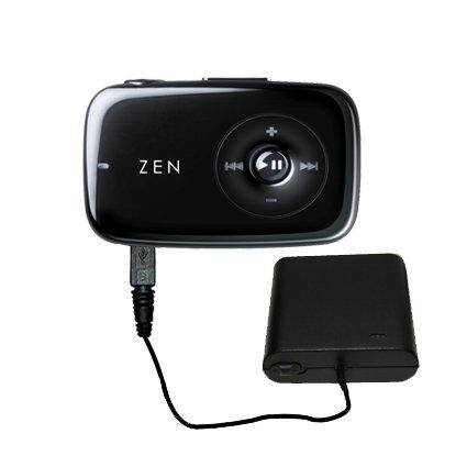 Tragbares AA Akkupack für kompatibel mit Creative Zen Stone Mit TipExchange Technologie