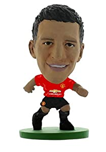 SoccerStarz SOC1293 Man Utd Alexis Sanchez-Home Kit (versión 2019) / Figuras, Color Verde