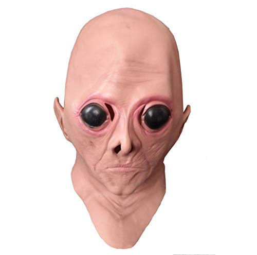 BR Karneval Halloween Big Eye Alien Maske High-End-Film - Alien Kostüm Weiblich