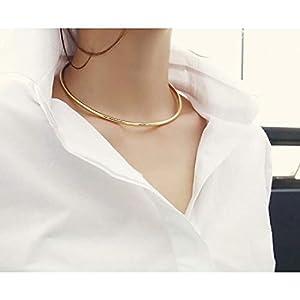 XUHAHAXL Halskette/Die Halskette Ist Sehr Einfach Und Der Wind Ist Aus Kupfer.