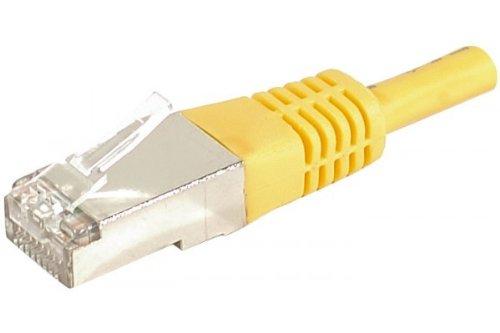 Preisvergleich Produktbild Patchkabel F / UTP,  CAT.6a,  gelb,  3, 0 m