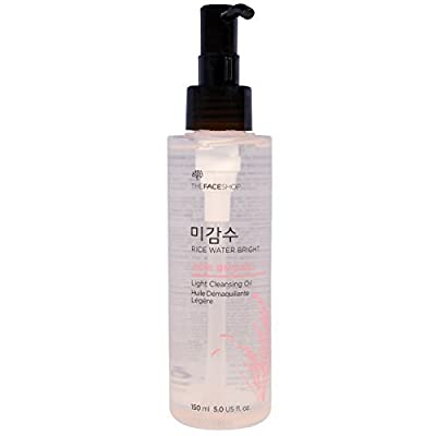 The Face Shop Rice Water Bright Cleansing Light Oil 150 Milliliter by The Face Shop