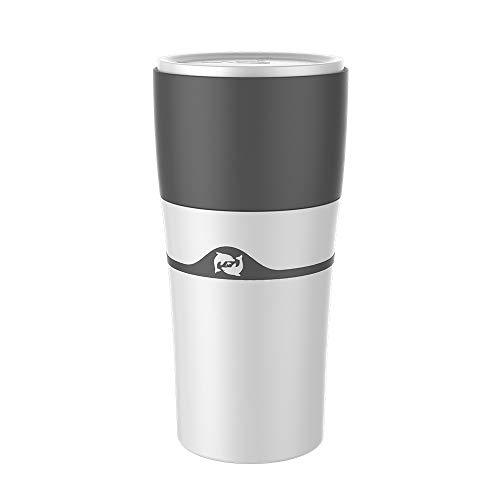 Link Co Tragbarer Tropftopf Portable Espressomaschine Manueller Absaugbecher Manueller Brühtopf Mini-Kapsel-Kaffeemaschine Kaffee für den Außenbereich Calix 450 ml