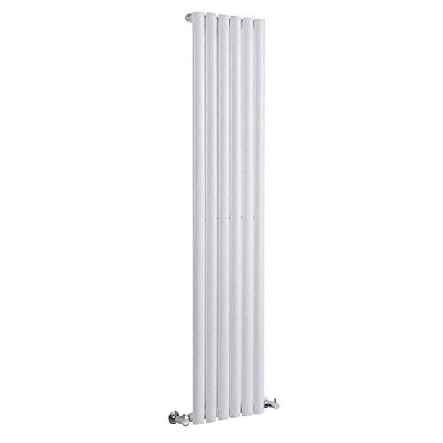 Milano Radiador de Diseño Revive Vertical - Blanco - 841W - 1600 x 354mm