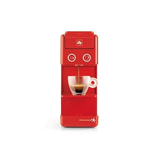 31k5Tg72nhL. SS500  - Francis Francis by illy 60292 Y3.2 Iperespresso Coffee Capsule Machine, 850 Watt, Red