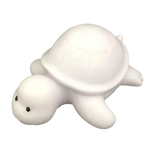 Morza LED Nachtlicht der Schildkröte Farbe 7, die Mini-Cartoon-Bedside-Lampen-Partei Schlafzimmer-Dekoration