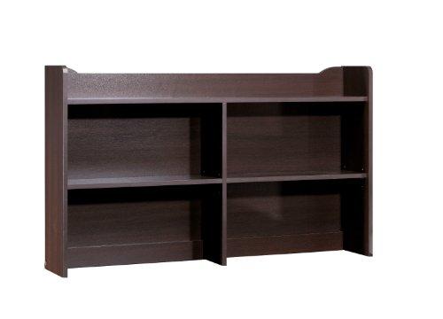 Nexera 4609 Pocono Bookcase Hutch, Espresso by Nexera