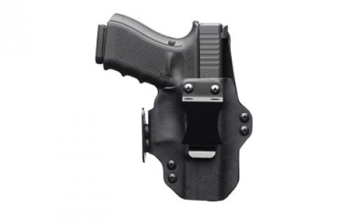 Black Point Tactical Dual Point Belt Holster, passt Glock 19, Leder/Kydex®, rechte Hand, Schwarz 104866