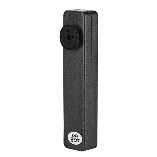 Mugast Mini Recorder für Konferenz,HD 4G Tasten Mini Recorder Video/Audio Recorder Tragbar Digital Handvideo Professionell Digitalkamera Button Konferenz Recorder