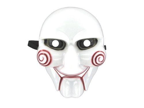 Jig Saw Killer Maske Halloween (Einfach Kostüm Jigsaw)
