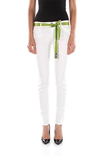 Jeans Twin-Set Donna Cotone Bianco S5JJ2S53F00001 Bianco 30