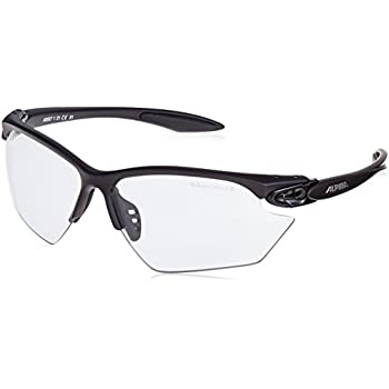 Alpina Sonnenbrille Performance EYE-5 HR VL+, white matt-black, A8531110