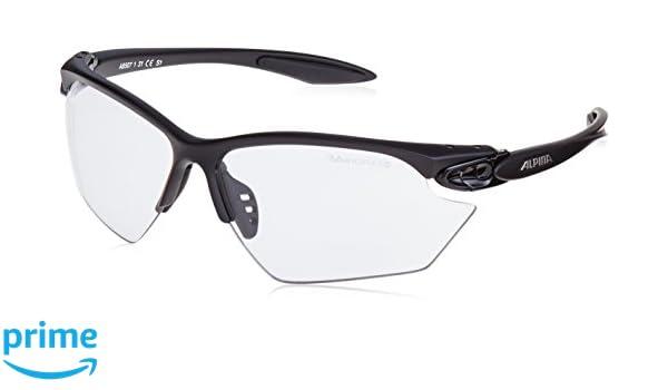 ALPINA Twist Four S VL+ Paire de lunettes de sport Noir Monture   noir mat  - Écran   Varioflex noir anti-brouillard S1-3 0  Amazon.fr  Sports et  Loisirs 73ecd8a77eb8
