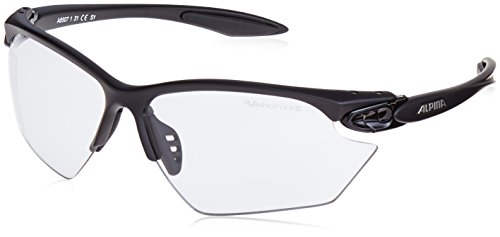 ALPINA Sonnenbrille Performance TWIST FOUR S VL+ Outdoorsport-brille, Black Matt, One Size