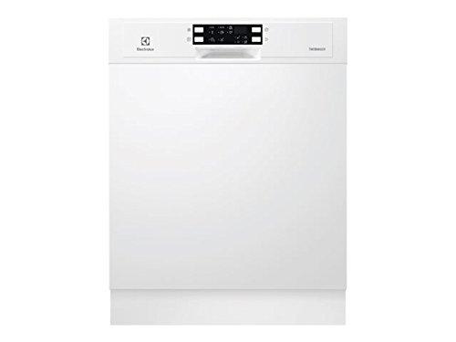 Electrolux ESI5543LOW Semi intégré 13places A++ lave-vaisselle - Lave-vaisselles (Semi intégré, Taille maximum (60 cm), Blanc, boutons, Tactil, LED, 1,5 m)