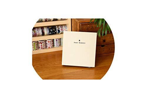 3-Zoll-Cotton Blatt 5 Zoll Fotoalbum Polaroid Mini Fotopapier Familie Speicher Rekord Souvenir Album, 3 Zoll